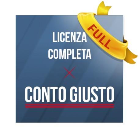 Conto Giusto - Licenza Completa (1 mese)